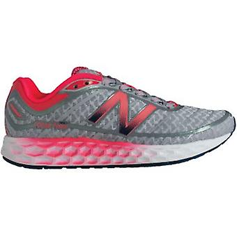 980 Fresh Foam V2 Road Running Shoes Silver/Pink (B WIDTH) Womens Size 7.5