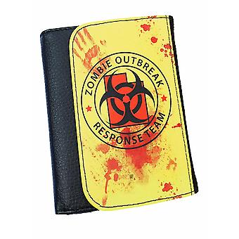 Zombie Response Team  Bifold Simulated Leather Wallet