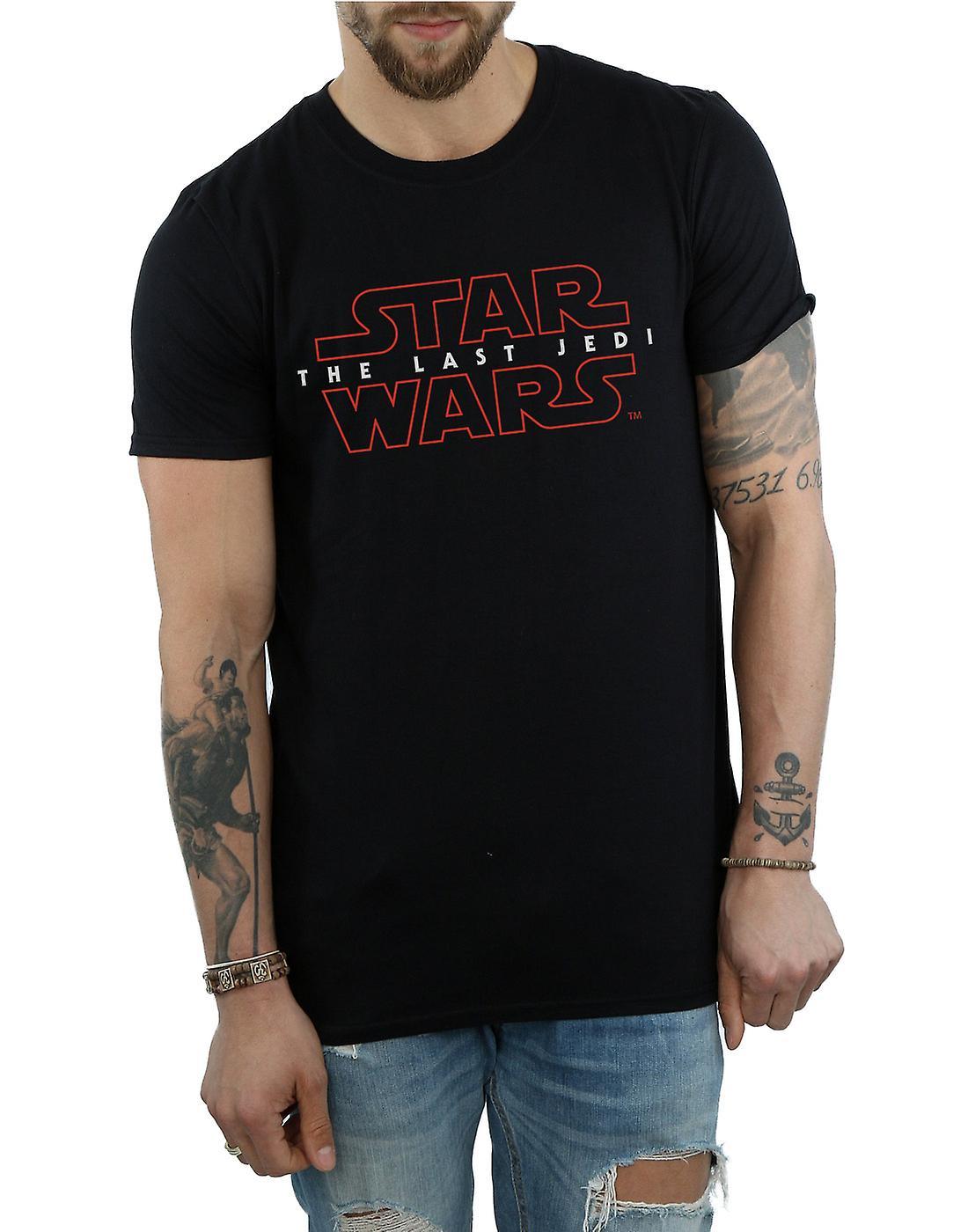 Star Wars Men's The Last Jedi Logo T-Shirt