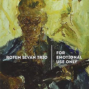 Sivan Rotem Trio - For Emotional Use Only [CD] USA import
