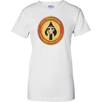 Special Operations Command - USMC Insignia - Ladies T Shirt