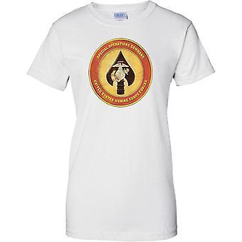 Comando de operaciones especiales - Insignia USMC - señoras T Shirt