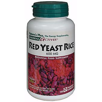 Natures Plus RED YEAST RICE 600 MG VCAPS 120