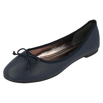 Ladies Anne Michelle Ballerina Shoes F80183