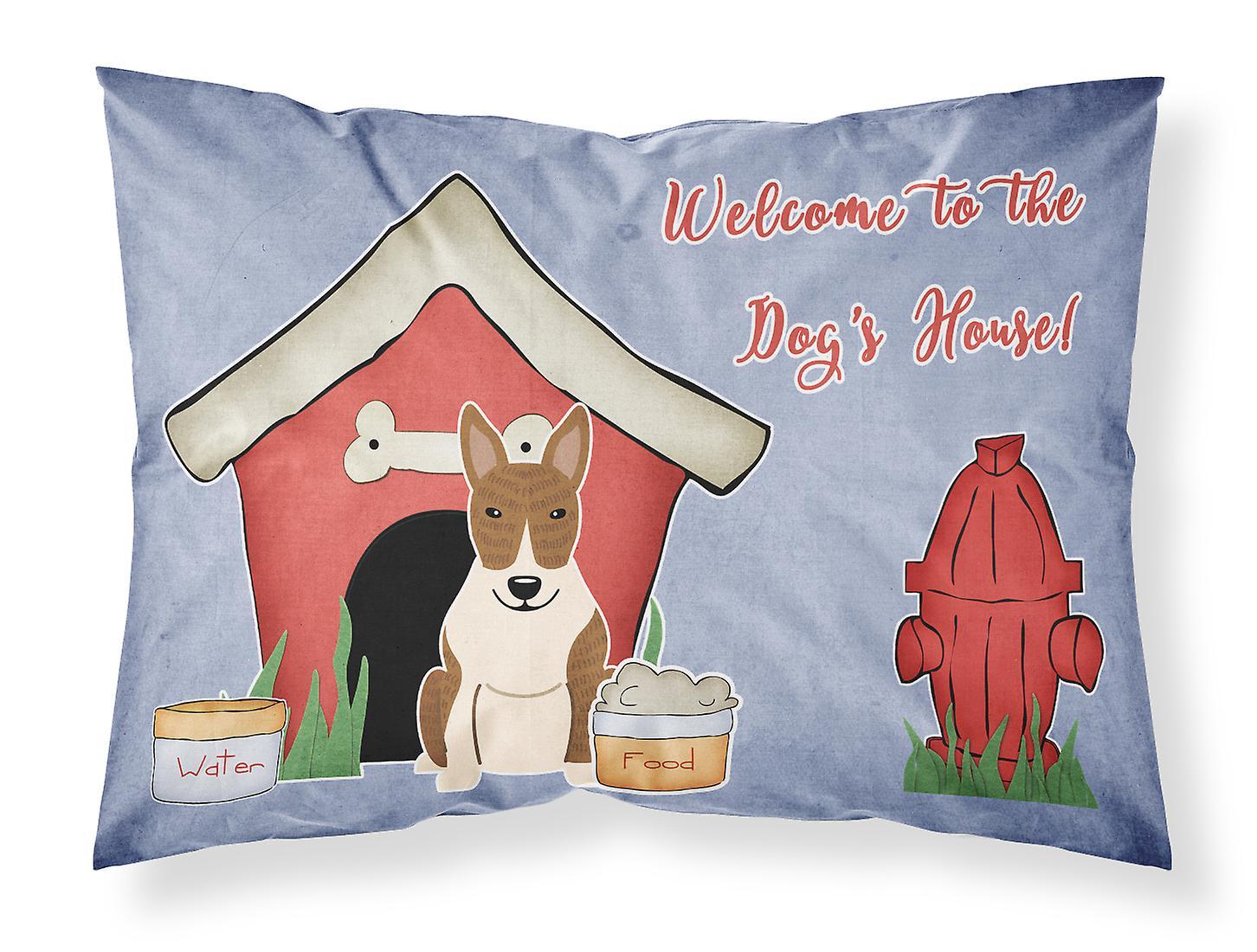 Taie Bringé Collection Terrier House Tissu D'oreiller Standard Bull Dog hdBtsrCQx