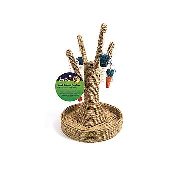 Rosewood Boredom Breaker Bunny Fun Tree Rabbit Toy