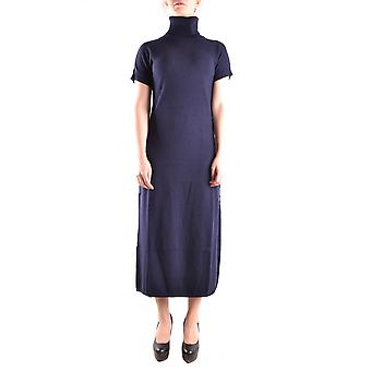Twin-set ladies MCBI302144O Blue Nylon dress