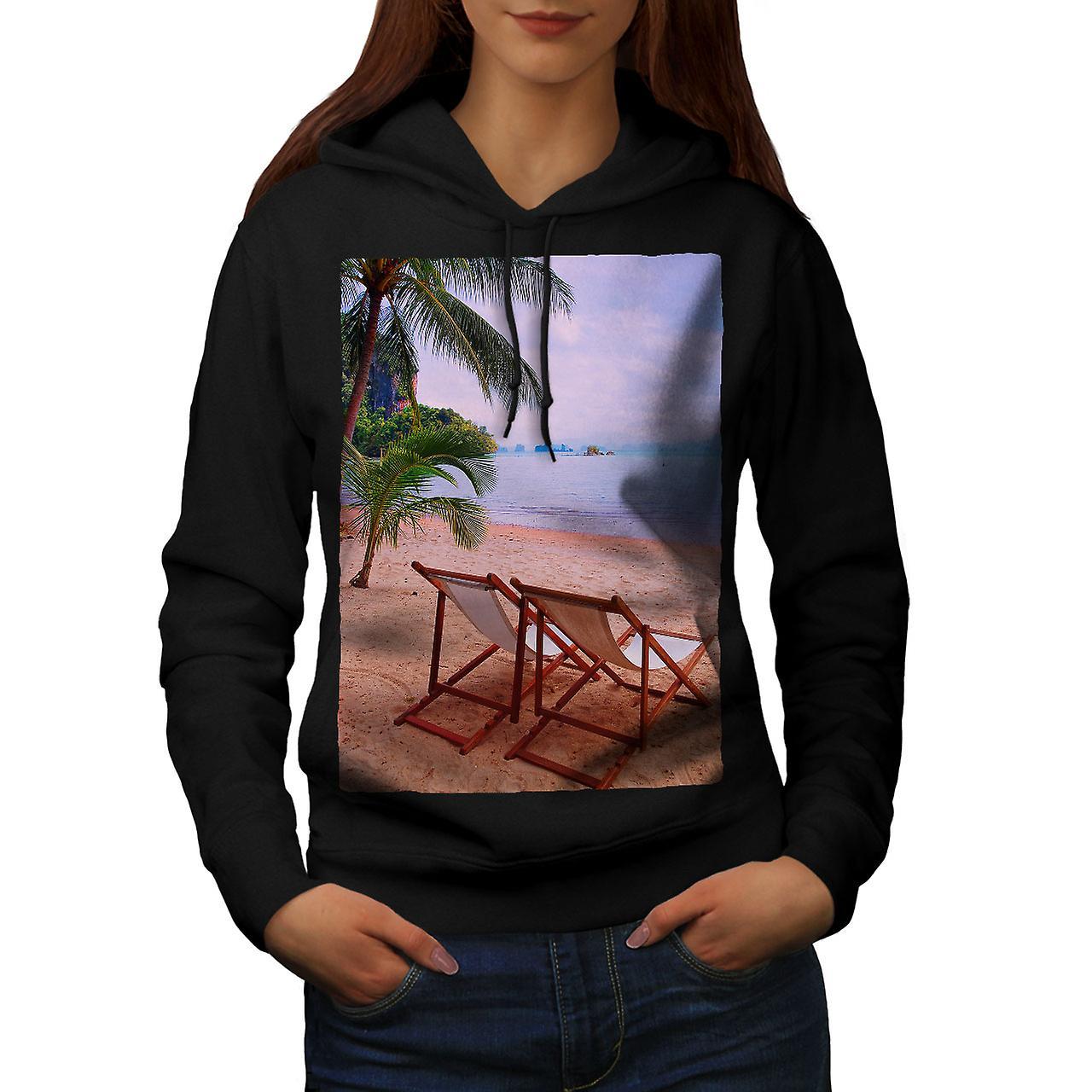 noirHoodie de femmes nature vacances d'été