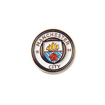 Manchester City FC Football officiel Crest Pin Badge