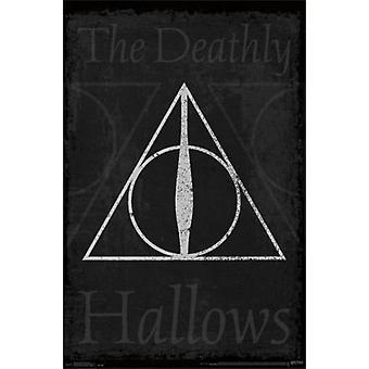 Harry Potter - Heiligtümer des Todes Symbol Poster drucken