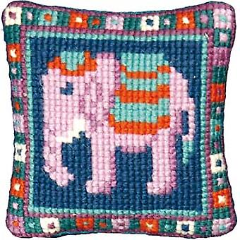 Lille elefant Needlepoint Kit