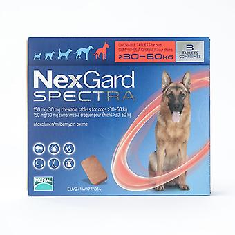 Nexgard Spectra X-Large Dogs 30-60kg 6 Pack