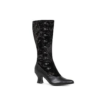 Ellie Shoes E-253-GAIL 2.5 Heel Womens Boot with decorative button detail