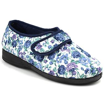 Mirak Womens/Ladies Diaz Summer Canvas Textile Memory Foam Shoes