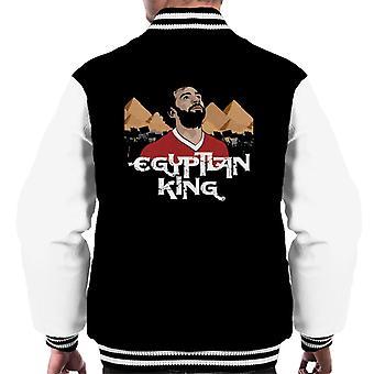 Liverpool Mo Salah Egyptian King Men's Varsity Jacket