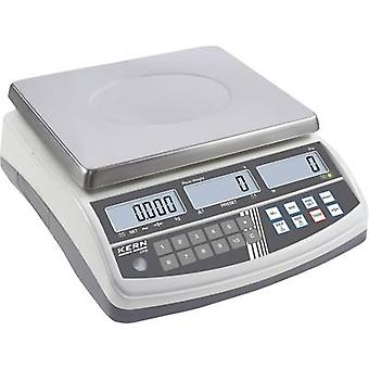 Counting scales Kern Weight range 30 kg Readability 0.5 g