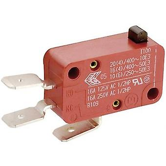 Marquardt Microswitch 01004.1001-01 250 V AC 8 A 1 x On/(On) momentary 1 pc(s)