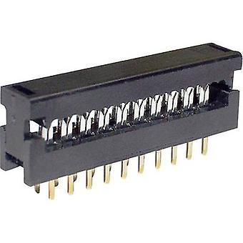 Edge connector (receptacle) LPV 25 S26 Total number of pins 26 No. of rows 2 econ connect 1 pc(s)