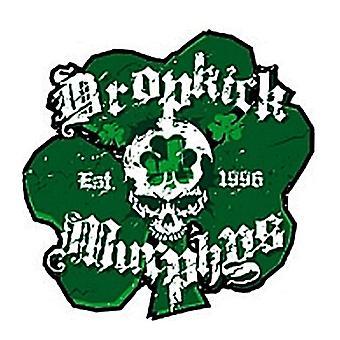 Dropkick Murphys Shamrock Vinyl Sticker 100Mm X 100Mm