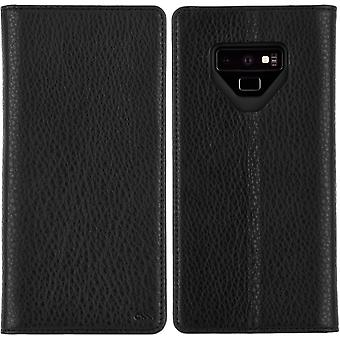 Case-Mate Leather Wallet Folio for Samsung Galaxy Note 9 - Black