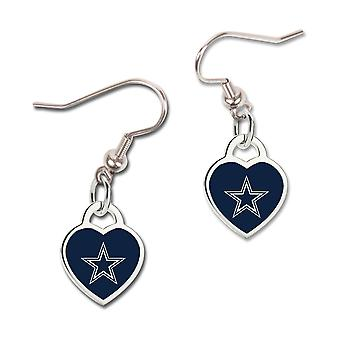 Wincraft ladies 3D heart earrings - NFL Dallas Cowboys