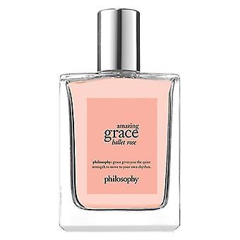 Filosofi Amazing Grace Ballet Rose for kvinder 4oz Eau De Toilette Spray