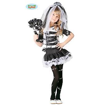 Monster Braut Kostüm für Mädchen Halloween Horror Brid