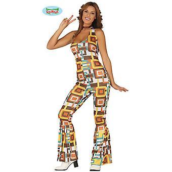 70 's disco dancing Queen kostuum jumpsuit women's disco kostuum