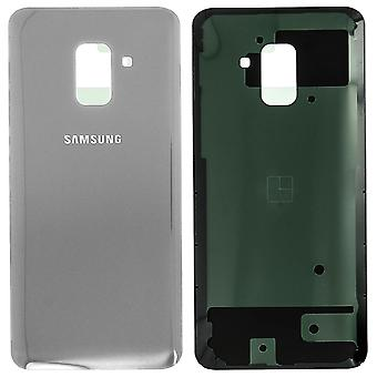 Obudowa część tylnej pokrywy, część zamienna dla Samsung Galaxy A8 2018 - szary