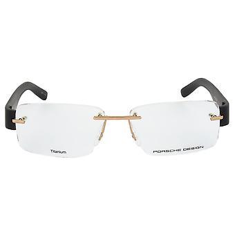 Porsche Design P8206 A Rimless | Gold/Black| Eyeglass Frames