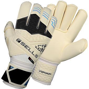 SELLS WRAP ELITE AQUA CAMPIONE JUNIOR Goalkeeper Gloves