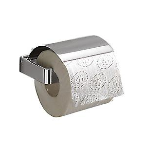Gedy Lounge Toilet Roll Holder With Flap Chrome 5425 13