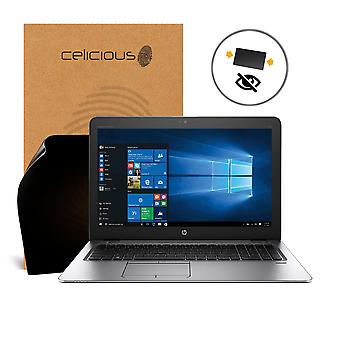 Celicious Privacy 2-Way Anti-Spy Filter Screen Protector Film Compatible with HP EliteBook 850 G3 (Touch)