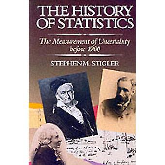 Historien om statistikk - måling av usikkerhet før 1900