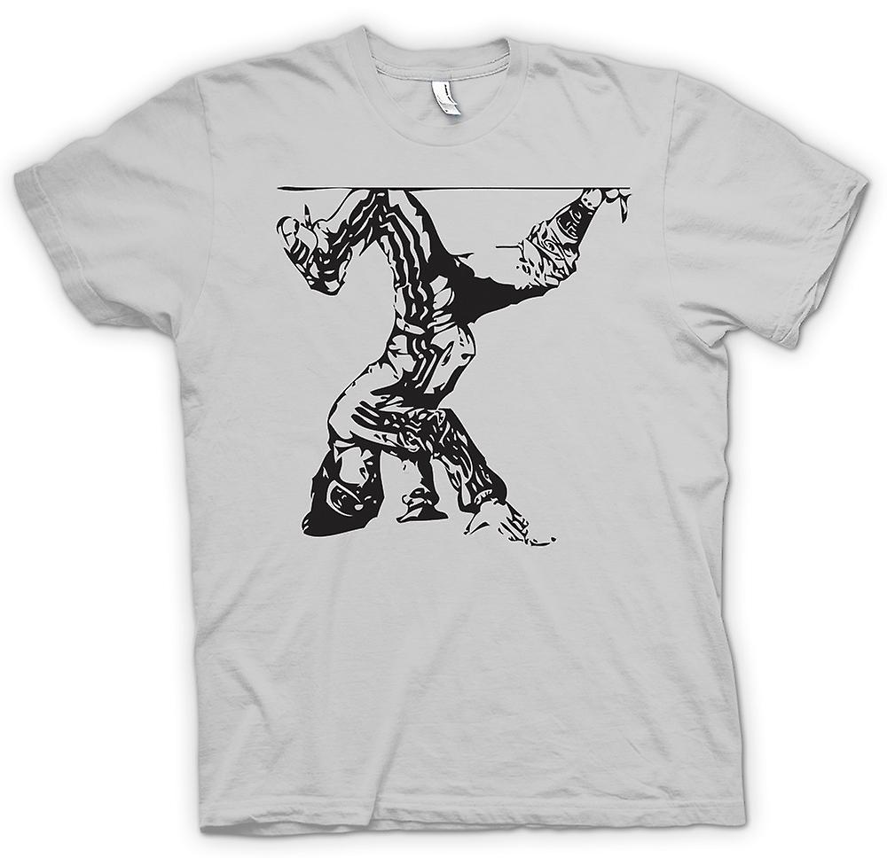 Mens T-shirt - Breakdance-Hip-Hop - BW
