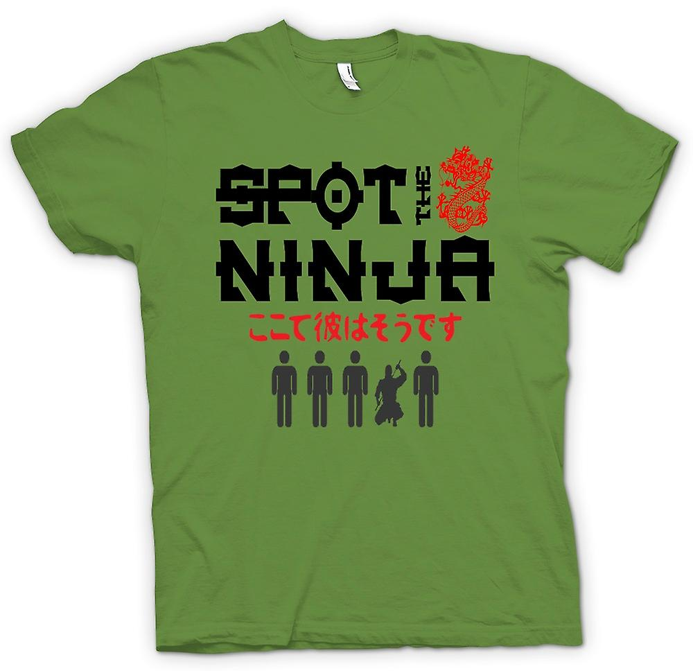 Mens T-shirt - Spot The Ninja - Funny