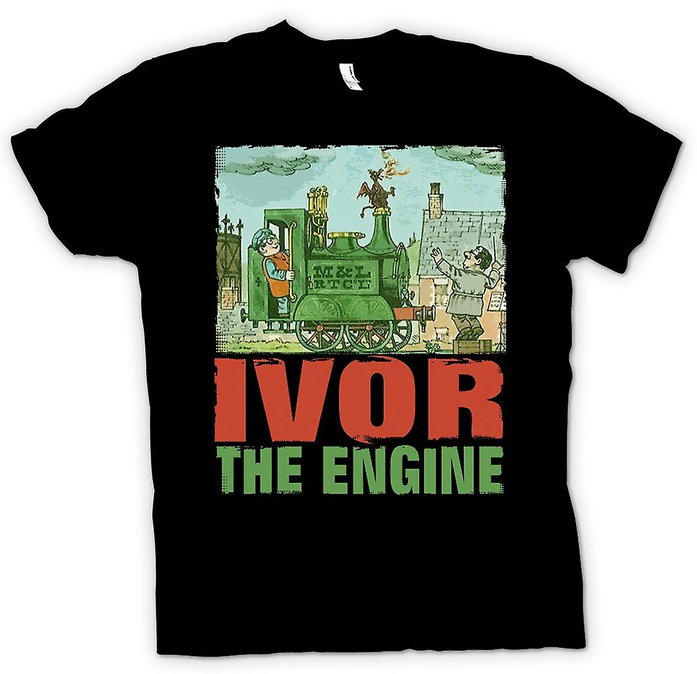 Kids T-shirt - Ivor The Engine - Jones And Dai