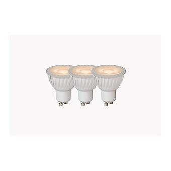 Lucide bombilla LED Reflector moderno blanco de Material sintético y transparente LED bombilla