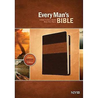 Bibel-NIV-Deluxe Erbe jedes Mannes