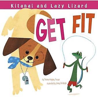 Kitanai and Lazy Lizard Get Fit (Kitanai's Healthy Habits)