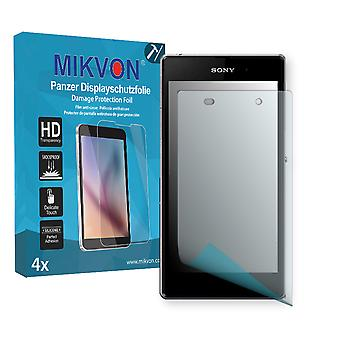 Sony Xperia C6902 Screen Protector - Mikvon Armor Screen Protector (Retail Package with accessories)