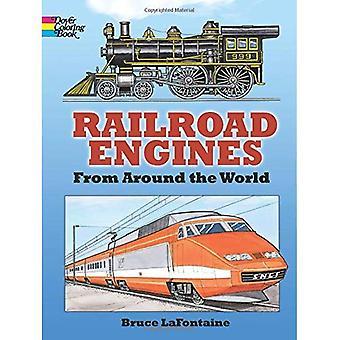 Lokomotiven, die Färbung Buch (Dover Pictorial Archives)
