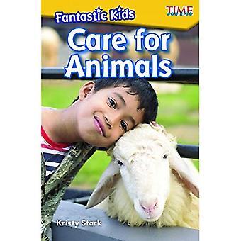 Fantastiska barn: Vård för djur (nivå K)