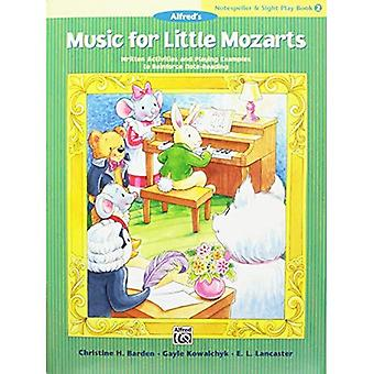 Music for Little Mozarts Notespeller & Sight-Play Book, Bk 2: Written Activities and Playing Examples to Reinforce Note-Reading (Music for Little Mozarts)