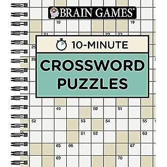 Brain Games 10 Minute Crossword Puzzles