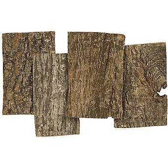 Natural Rustic Bark Pieces for Floristry & Adult Crafts