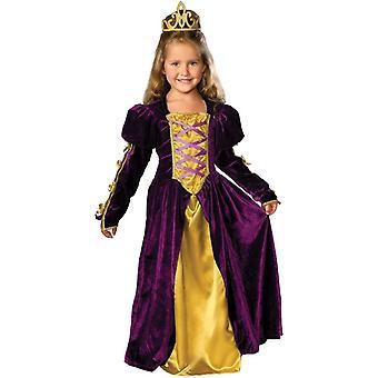 Wunderschöne Königin Kostüm für Kinder