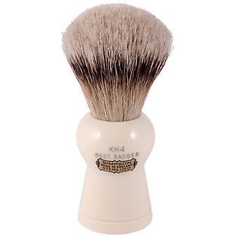 Simpsons Keyhole KH4 Best Badger Hair Shaving Brush Large - Imitation Ivory