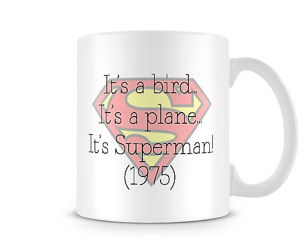 Its A Bird Its A Plane Its Superman 1975 Mug