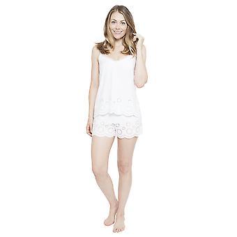 Cyberjammies 4142 Women's Ella White Pyjama Short